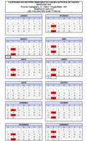 Calendário de Reuniões Ordinárias 2019